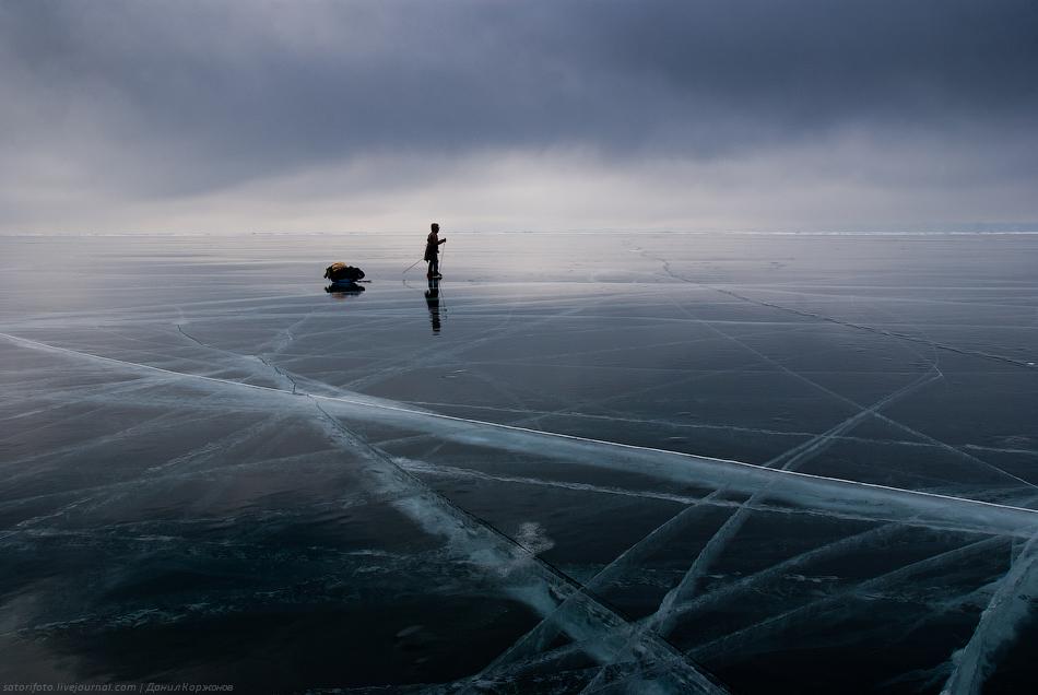 1359 Тонкие струны Байкала или 400 км на коньках
