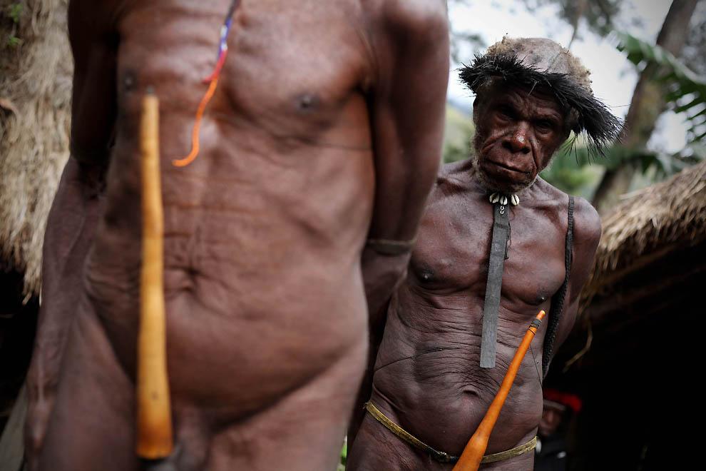 1383 Племя Дани из Западной Папуа
