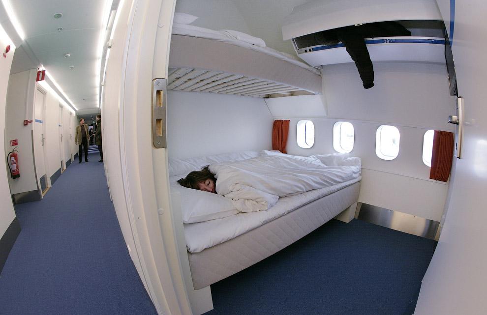 1398 Отель в самолете
