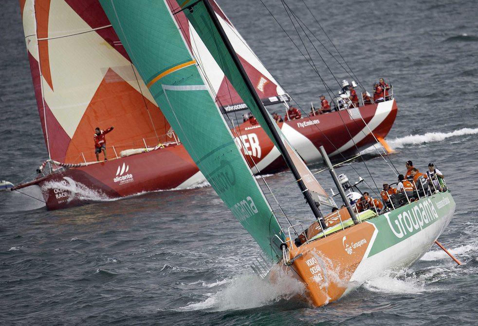 14107 Кругосветная регата «Volvo Ocean Race» направляется в Майями
