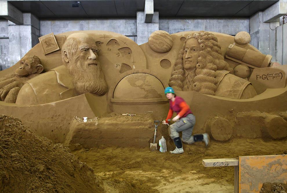 1426 Выставка песочных скульптур на дюне Тоттори