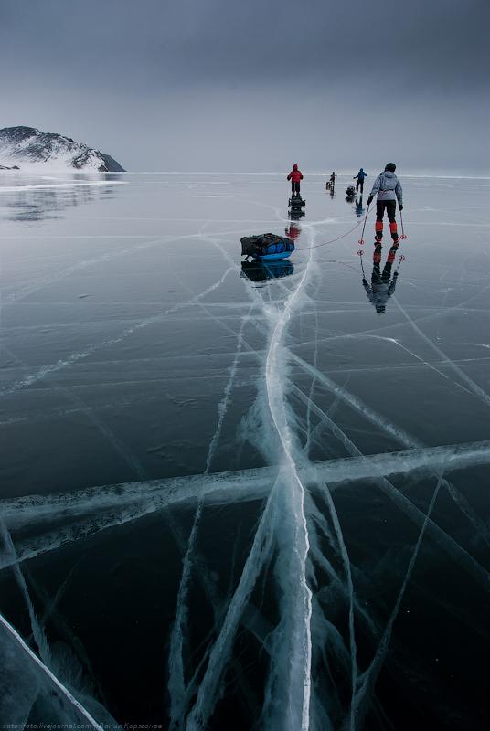 1454 Тонкие струны Байкала или 400 км на коньках