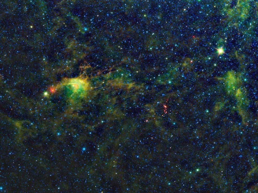 1468 Космос в тепловых лучах