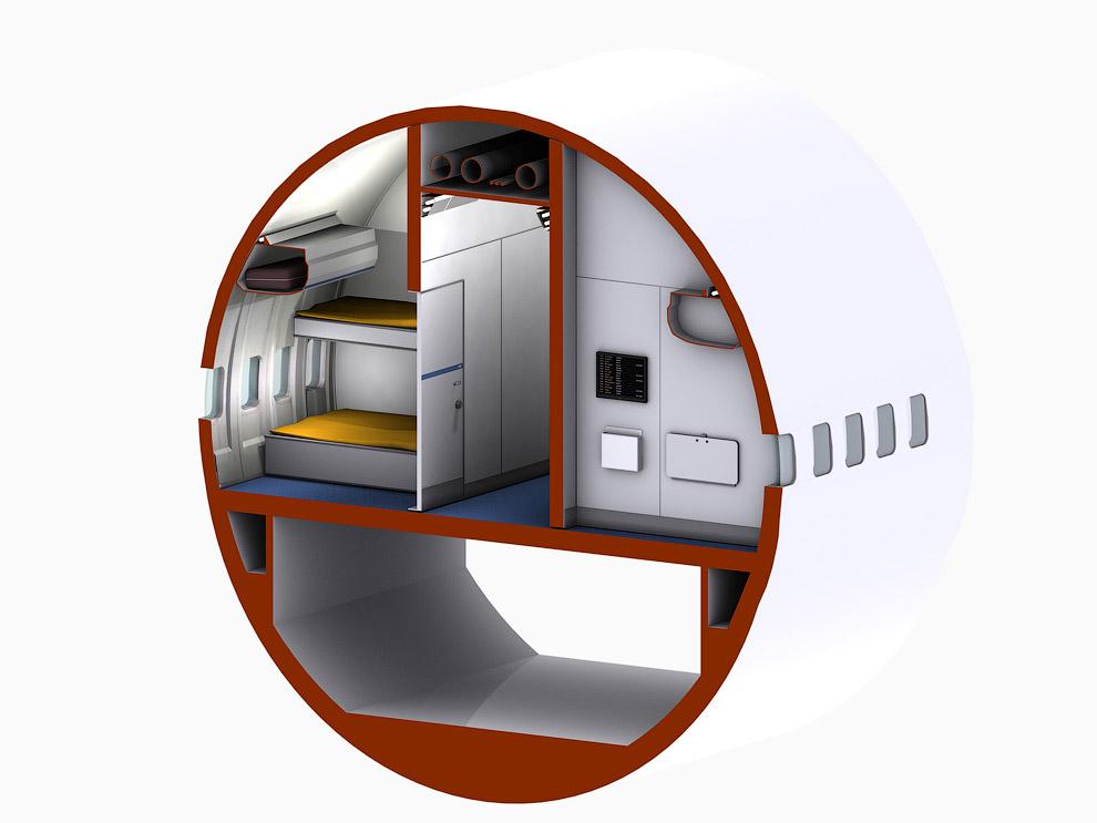 1487 Отель в самолете