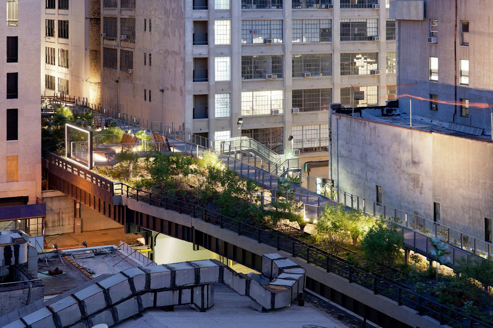 1497 Хай Лайн   зеленый оазис в Нью Йорке