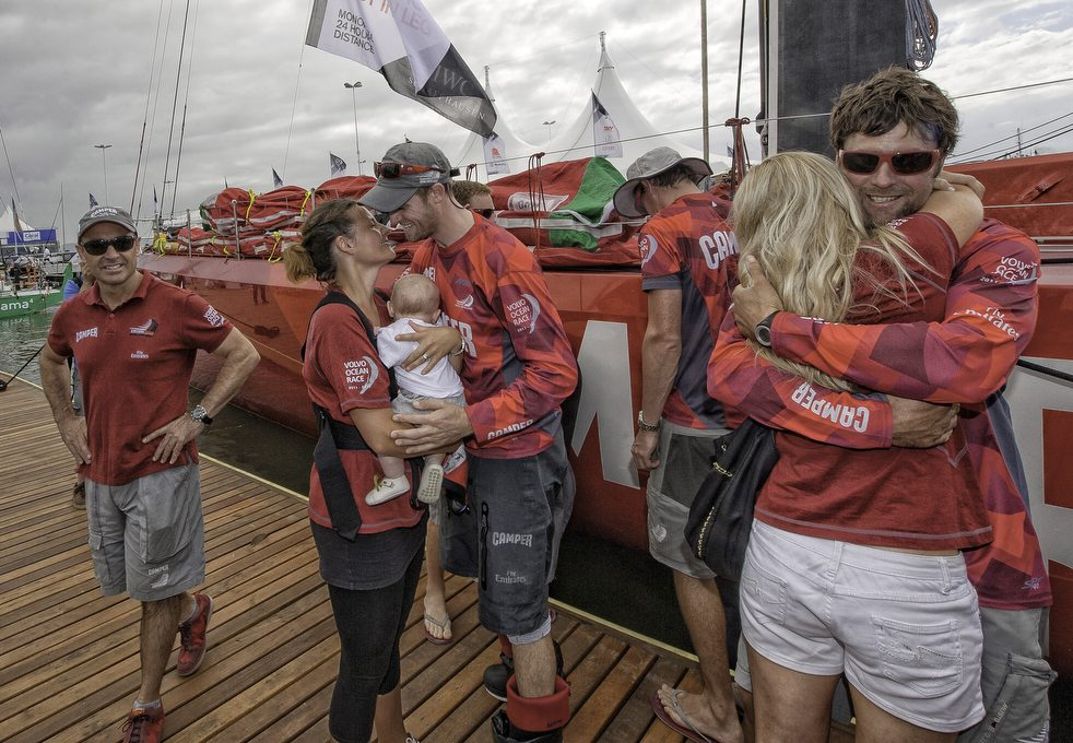 15101 Кругосветная регата «Volvo Ocean Race» направляется в Майями
