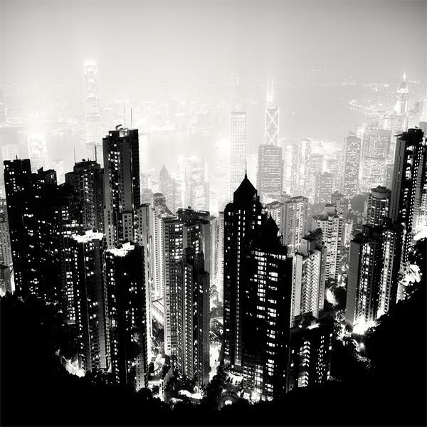 1512 Черно белая красота больших городов