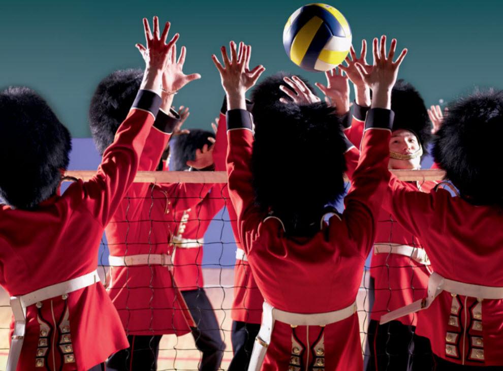 15122 Лондонские гвардейцы готовятся к Олимпиаде