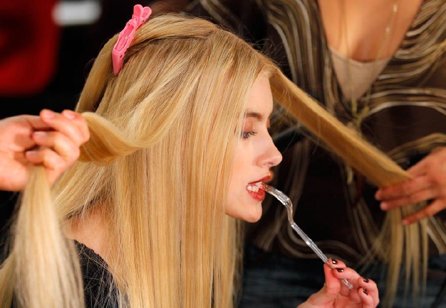 1518 За кулисами нью йоркской недели моды сезона осень 2012