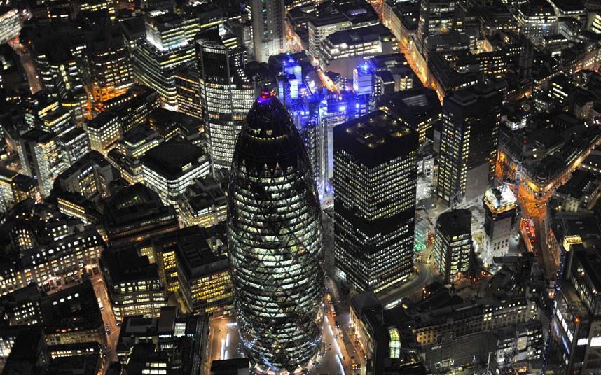1522 Британские города с воздуха