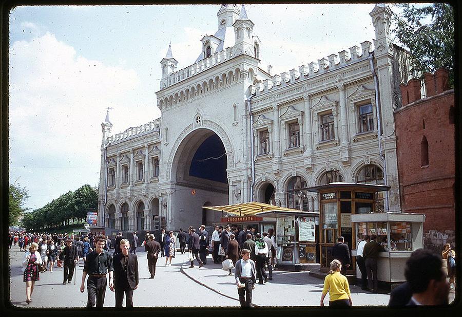 1546 Москва 1969 года в объективе американского фотографа