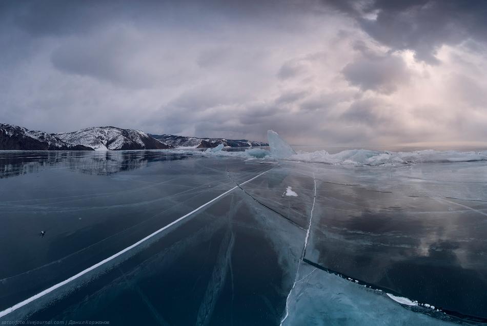 1548 Тонкие струны Байкала или 400 км на коньках