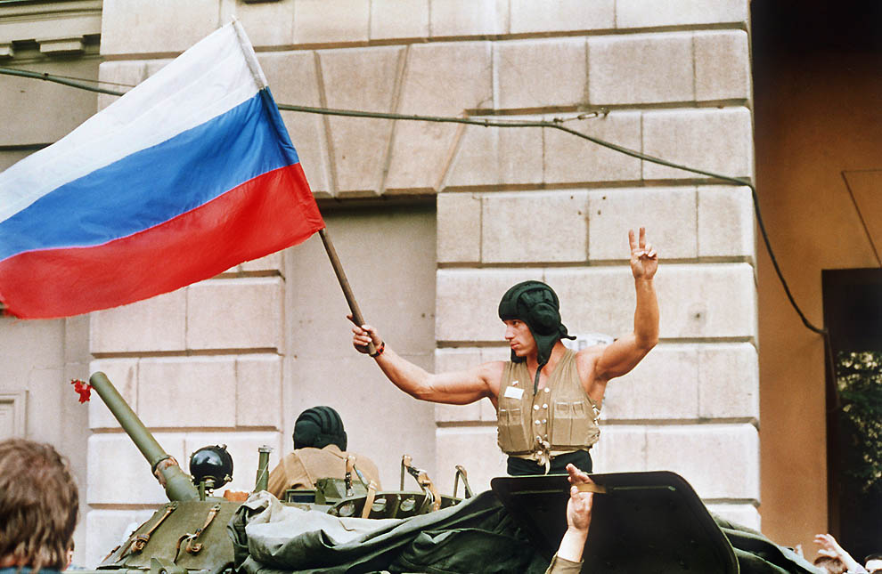 1565 Самые яркие кадры последних месяцев существования СССР