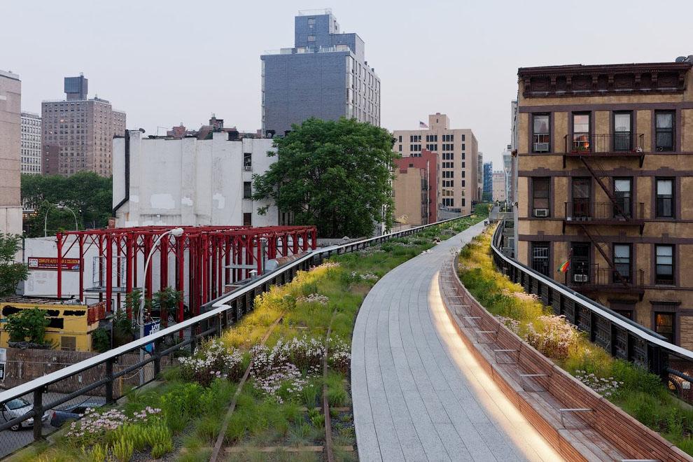 1589 Хай Лайн   зеленый оазис в Нью Йорке