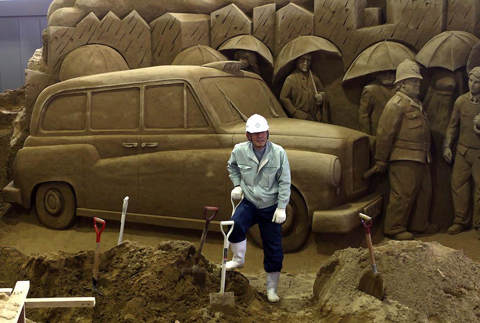 1622 Выставка песочных скульптур на дюне Тоттори