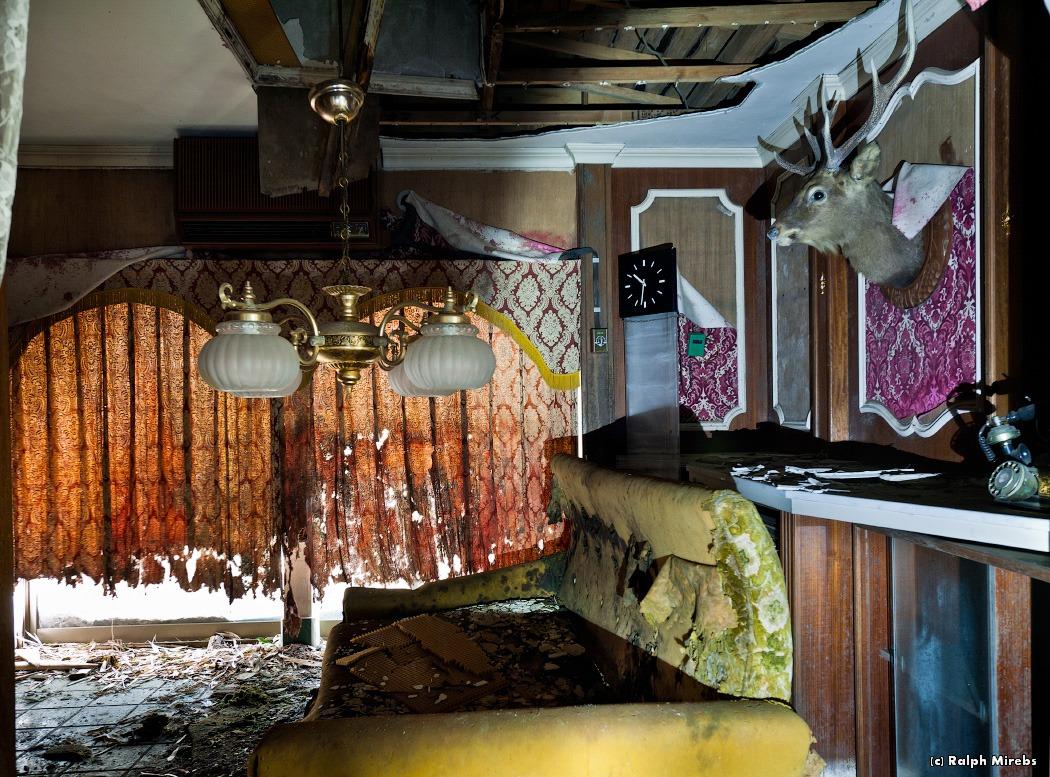 1630 Заброшенный отель в Японии