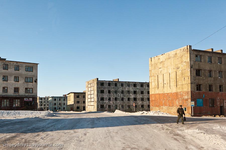 1632 Певек   самый северный город России