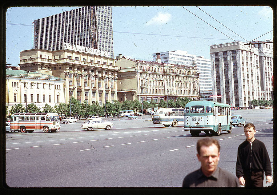 1641 Москва 1969 года в объективе американского фотографа