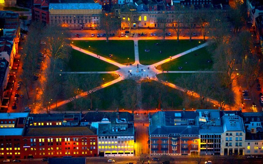 1719 Британские города с воздуха