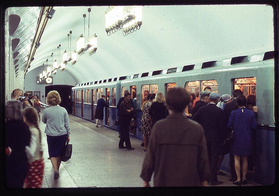 1739 Москва 1969 года в объективе американского фотографа