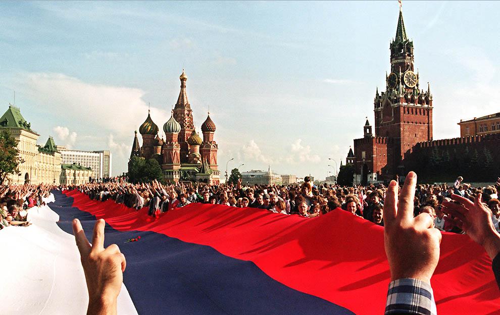 1756 Самые яркие кадры последних месяцев существования СССР