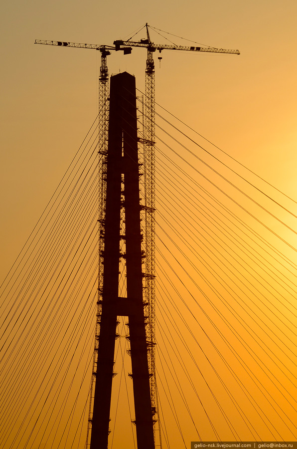 1781 Мост на остров Русский во Владивостоке (Апрель 2012)