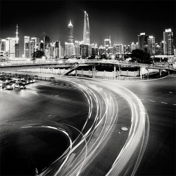 179 Черно белая красота больших городов