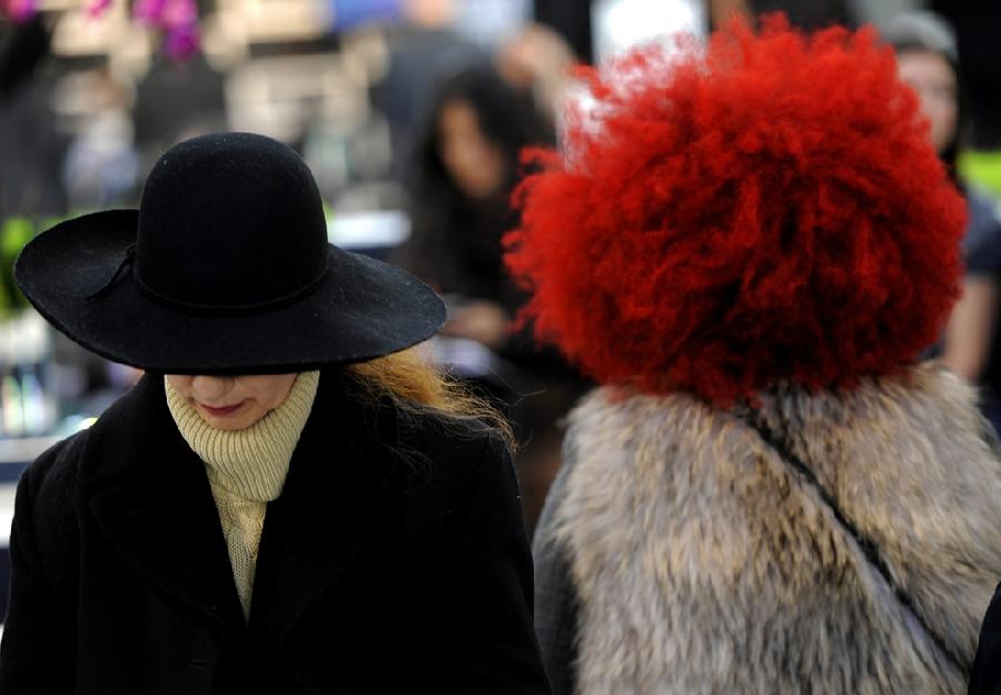1814 За кулисами нью йоркской недели моды сезона осень 2012