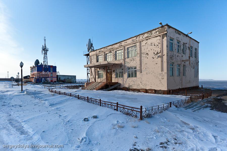 1828 Певек самый северный город России