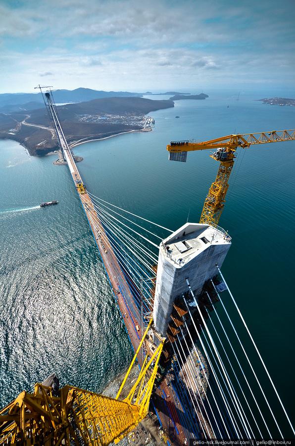 1875 Мост на остров Русский во Владивостоке (Апрель 2012)