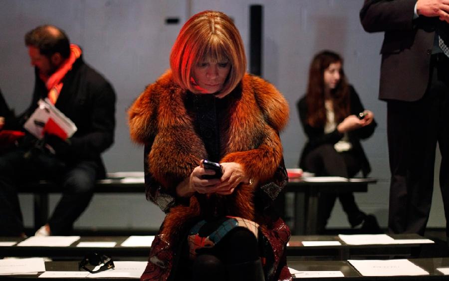 1913 За кулисами нью йоркской недели моды сезона осень 2012