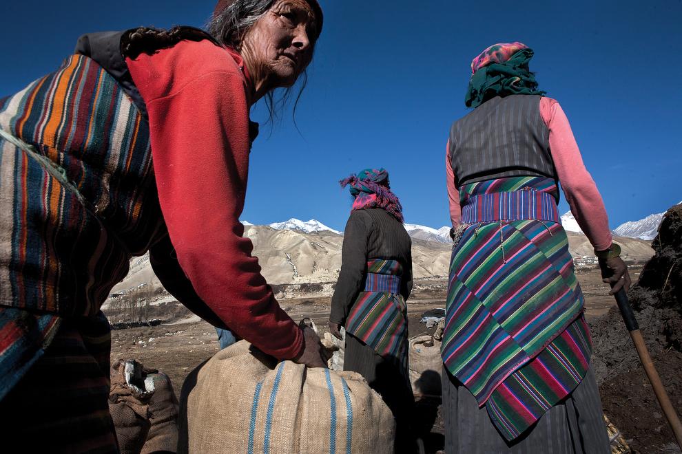 1964 Монтанг: бывшее королевство Ло в Непале