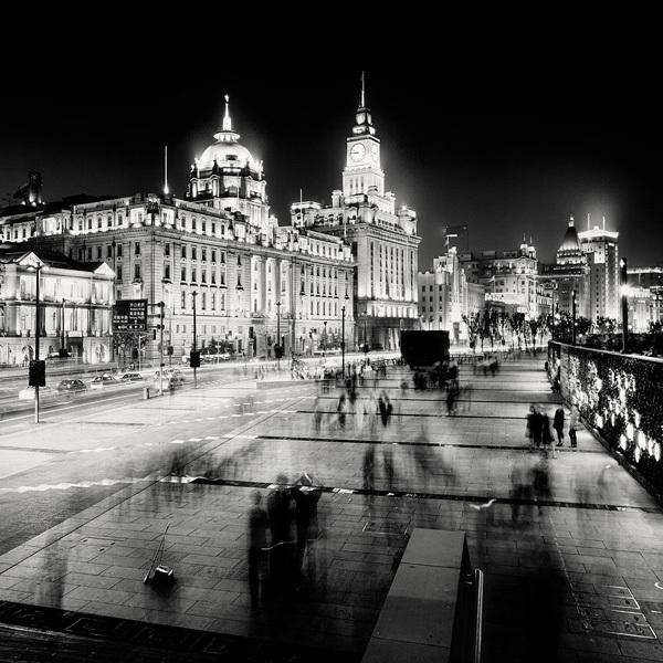 197 Черно белая красота больших городов