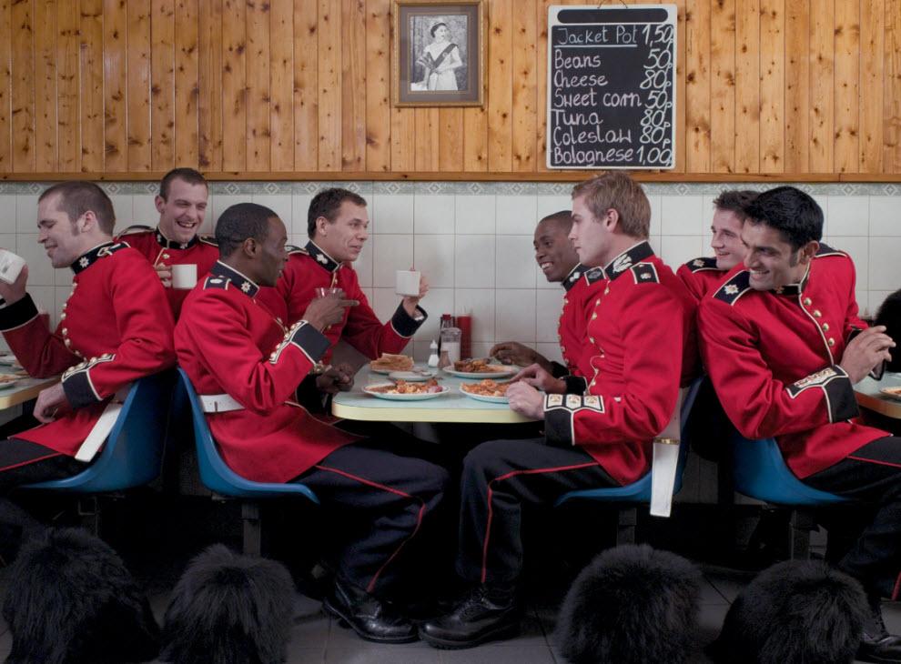 1991 Лондонские гвардейцы готовятся к Олимпиаде