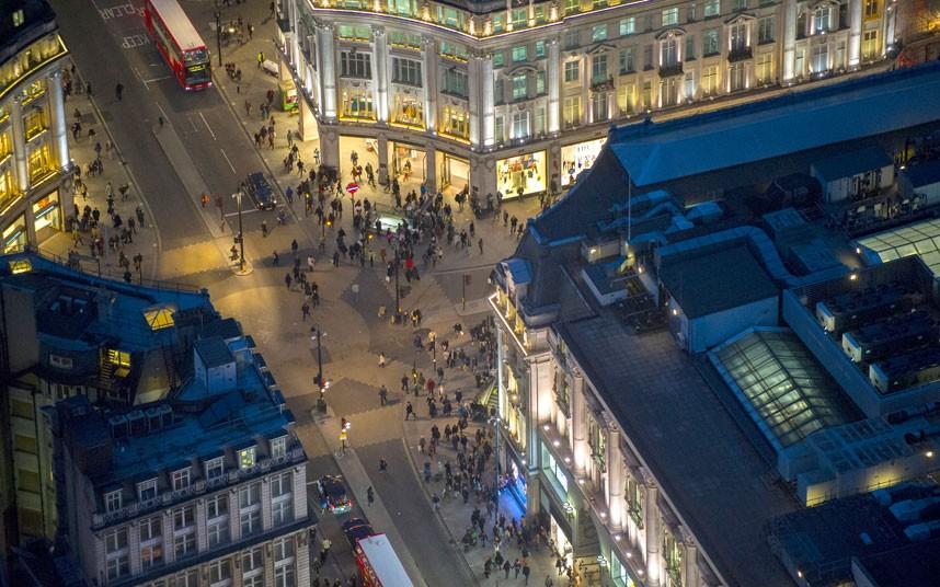 2015 Британские города с воздуха