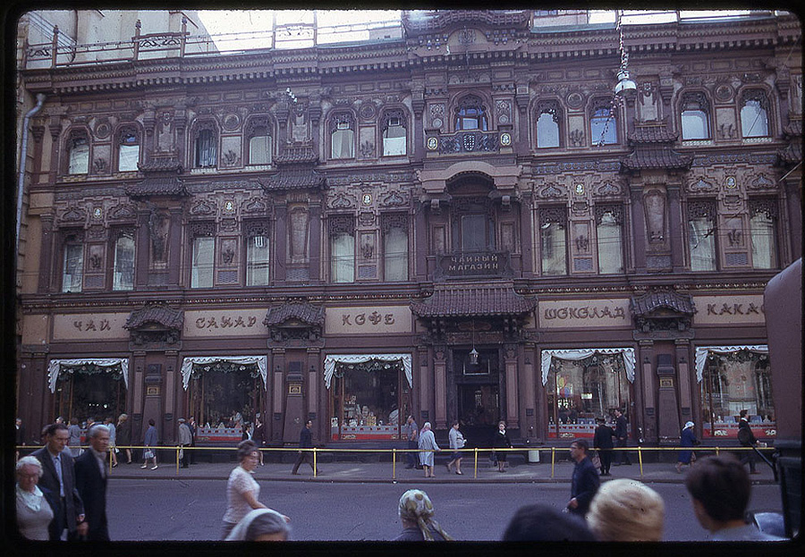 2035 Москва 1969 года в объективе американского фотографа