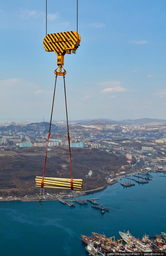 2069 Мост на остров Русский во Владивостоке (Апрель 2012)