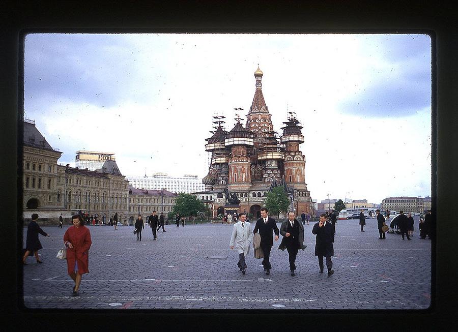 2162 Москва 1969 года в объективе американского фотографа