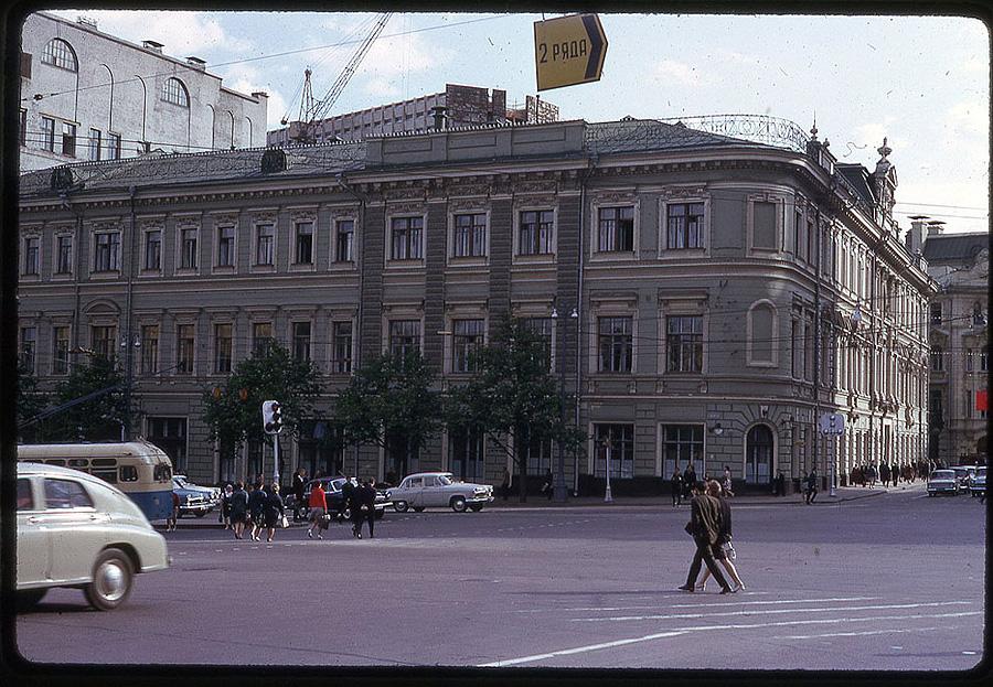 2163 Москва 1969 года в объективе американского фотографа