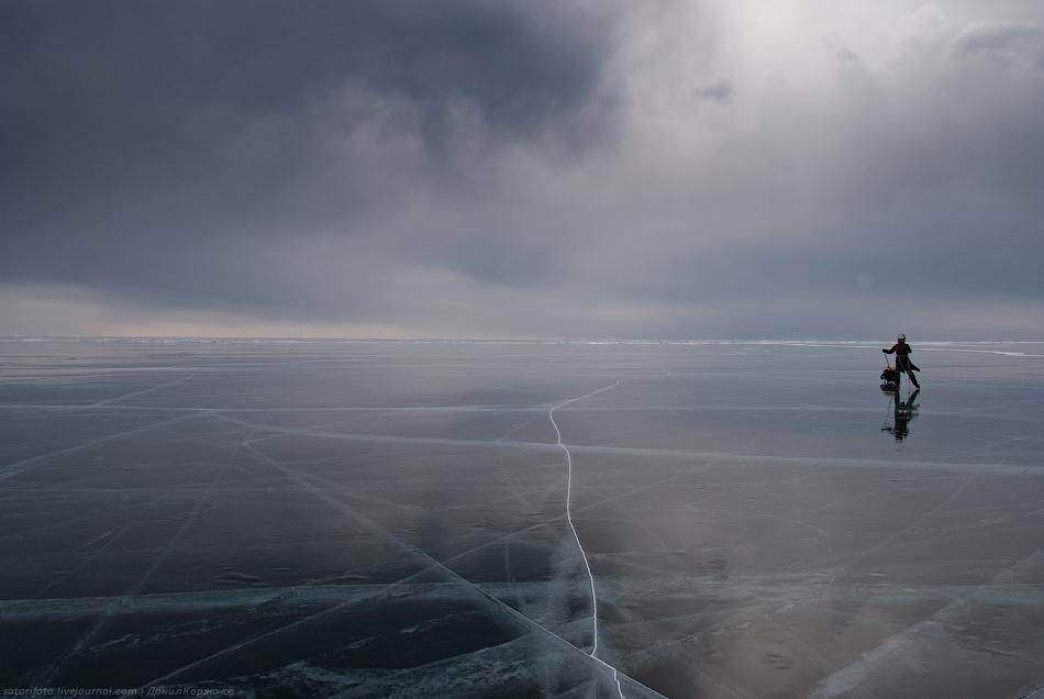 2168 Тонкие струны Байкала или 400 км на коньках