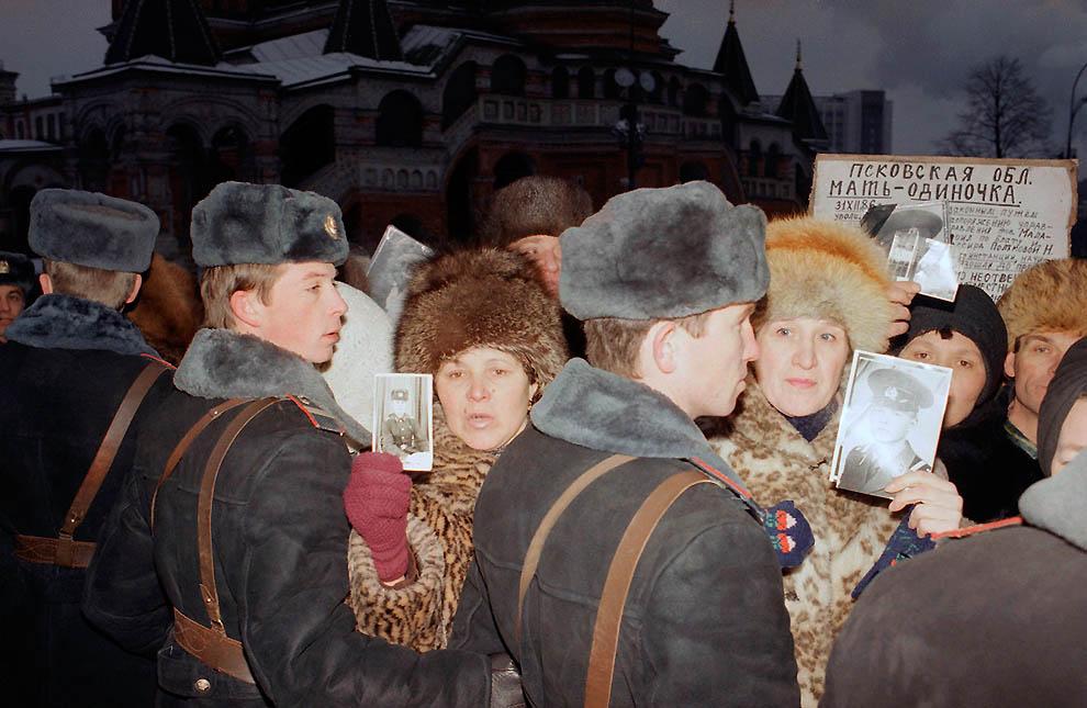 2199 Самые яркие кадры последних месяцев существования СССР