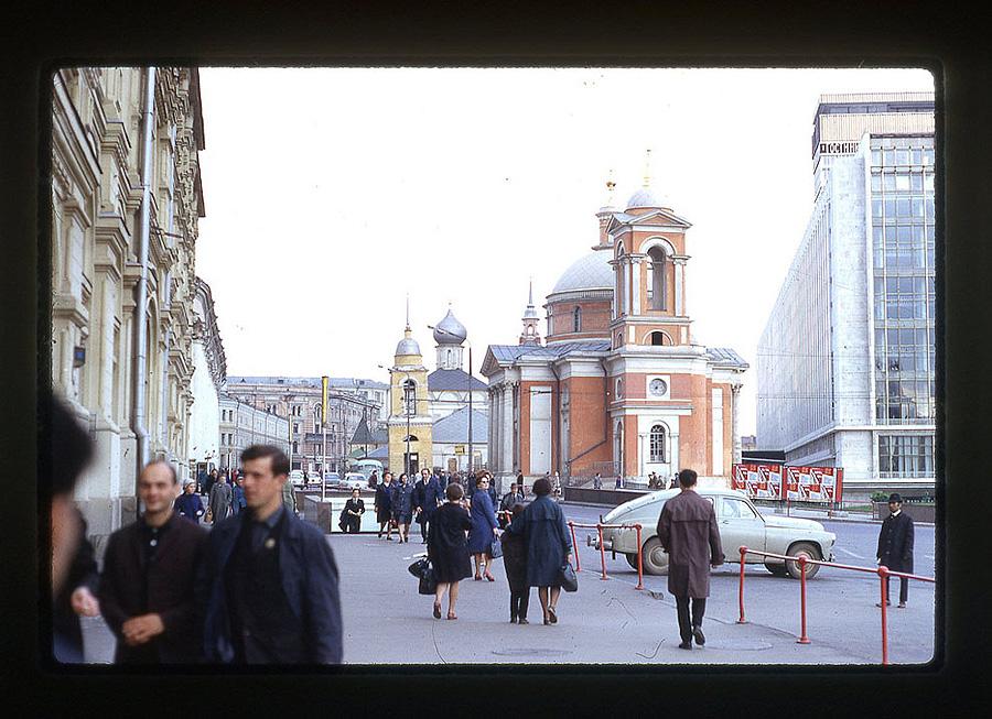 2233 Москва 1969 года в объективе американского фотографа