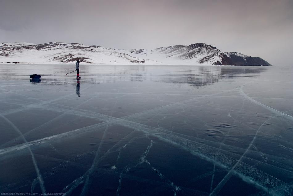 2234 Тонкие струны Байкала или 400 км на коньках