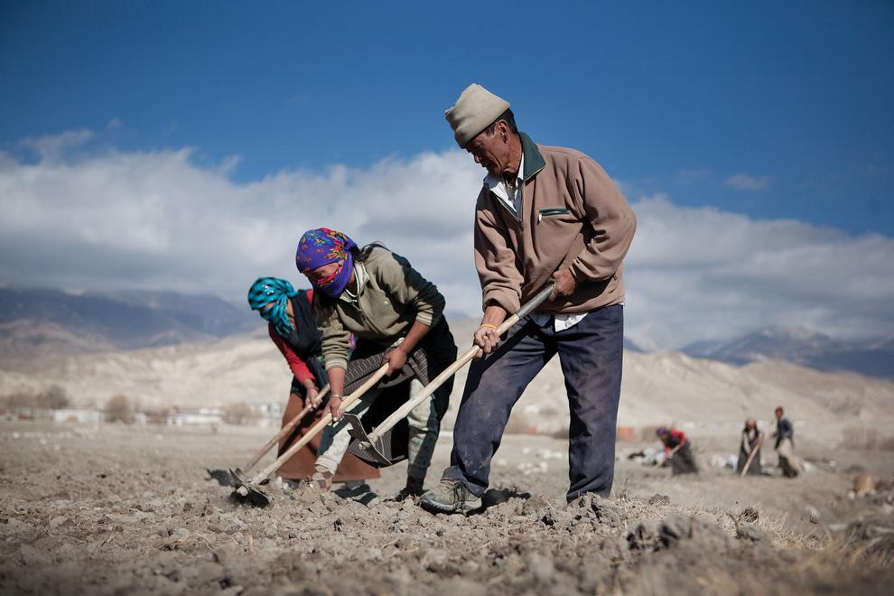 2264 Монтанг: бывшее королевство Ло в Непале