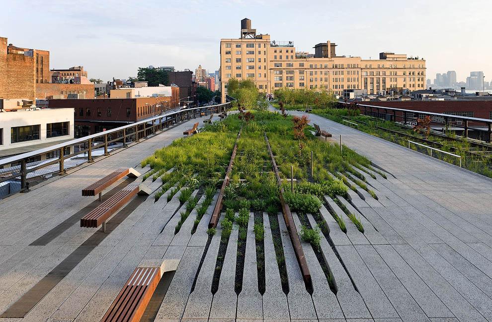 2274 Хай Лайн   зеленый оазис в Нью Йорке