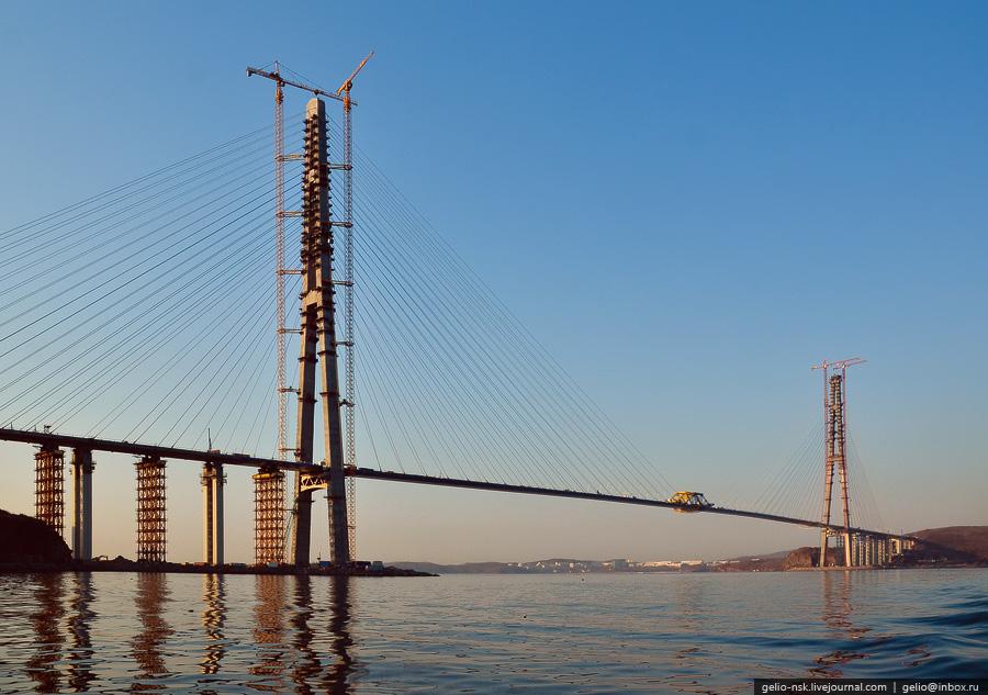 2288 Мост на остров Русский во Владивостоке (Апрель 2012)