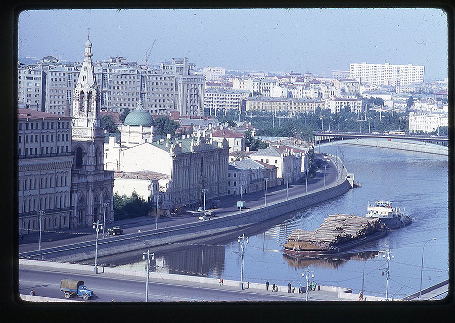 2328 Москва 1969 года в объективе американского фотографа