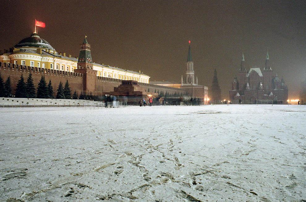2337 Самые яркие кадры последних месяцев существования СССР