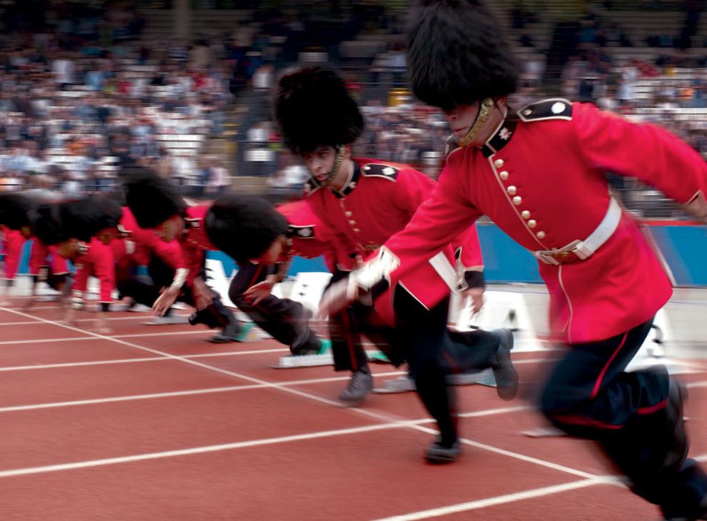 2385 Лондонские гвардейцы готовятся к Олимпиаде