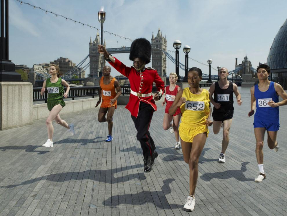2386 Лондонские гвардейцы готовятся к Олимпиаде
